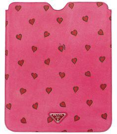 Cute Prada iPad case!