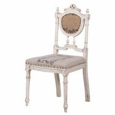 Studded Script Seat from The French Bedroom Company