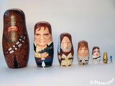 Bonecas Matrioshka de Star Wars, Os Simpsons e Os Caça-Fantasmas | Garotas Nerds