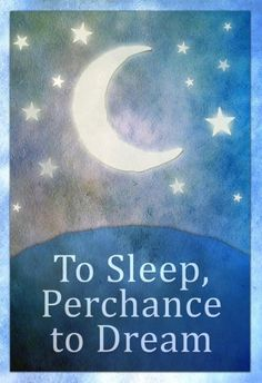 To Sleep Perchance To Dream Art Poster Print Poster at AllPosters.com