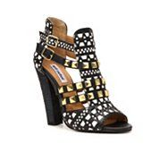 What's studded, and gilded, and black all over?! These amazing peep-toe booties. And they're only $39 bucks! Awesome.