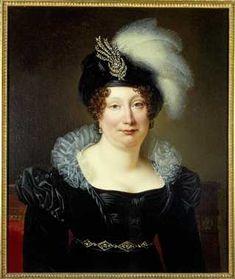 Ooo! I want that beautiful diamond (?) turban pin! Vermoedelijk Helena Margaretha van Dielen (1774-1841), echtgenote van Otto van Romondt.