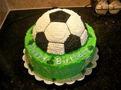 Excellent Image of Soccer Birthday Cakes Soccer Birthday Cakes Soccer Birthday Cakes Football Birthday Cake, Soccer Birthday Parties, Diy Birthday Cake, Football Cakes, Birthday Ideas, Happy Birthday, Soccer Cake, Sport Cakes, Cake Images