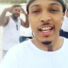 August & Young Jeezy in Miami Diggy Simmons, Young Jeezy, Juicy J, Mindless Behavior, Def Jam Recordings, Trinidad James, August Alsina, Trey Songz, Fine Men