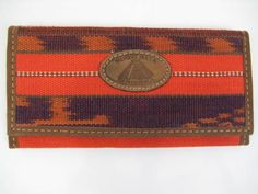 Striped Large Wallet No.7 - Culture Grafters