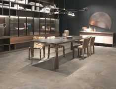 IMSO Ceramiche - Italghisa Available in Cluj-Napoca hausline. Style Loft, Conference Room, Dining Table, Public, Furniture, Home Decor, Living Room Kitchen, House, Outer Space