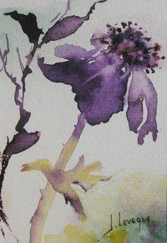 anemone aquarelle
