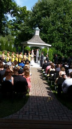 53 best wedding ceremony locations metro toledo images on pinterest outside holland gardens for a wedding ceremony junglespirit Image collections
