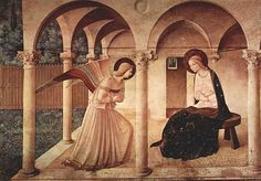 Annunciation by Fra Angelico