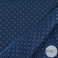 Plus Sign Yarn Dyed in Denim - Xs - Indikon Denim Cotton Fabric - SRK 16719-67 - Robert Kaufman - Dressmaking Material - Quilt Yarn Stitch Cotton Lawn Fabric, Dressmaking Fabric, Denim Cotton, Robert Kaufman, Colored Denim, Fabrics, Beige, Stitch, Sewing