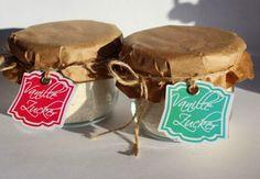 Herzschlüssel: Vanillezucker aus dem Thermomix mit Etiketten-Freebie