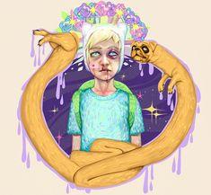 """APR 16 Arte e Criatividade Portfolios (entrevistas)  Se você é fã de Hora de Aventura (Adventure Time), animação criada por Pen Ward, nem preciso contar para você a história do humano Finn e seu amigo Jake (o cão). Essa dupla vive aventuras sinistras na fantástica """"Terra de Ooo"""". Eles salvam princesas e de vez em quando também fazem um som, com direito a voz de robô!  Como tributo a esse desenho, que é um dos mais maneiros da atualidade, selecionei algumas das fan arts mais legais que rolam…"""