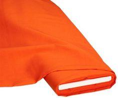 "Baumwollstoff ""Basic"", orange € 5,95"