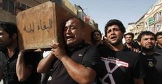 A US-led coalition is responsible for striking mourners in Iraq over the weekend, killing dozens of civilians, including women and children.