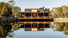 Saddles Is the Central Coast's Stunning New Bush Restaurant and Bakehouse - Concrete Playground Sydney Cafe, Sydney Food, Sandstone Fireplace, Waterfall Features, Sydney Restaurants, Tapas Bar, Beer Garden, Central Coast, Saddles