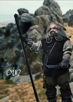 healthy insanity — Oin the dwarf The Hobbit: The Desolation of Smaug