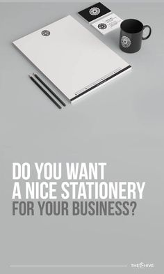Get the whole stationary for your business with us.  Go to our website for further information.