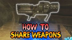 This is a clear, step-by-step guide on how to share weapons with other players (or simply store them on solo) in Revelations. Chalk Quotes, Easter Eggs, Weapons, Guns, Weapon, Firearms