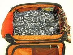 15 dicas para ganhar espaço e preservar as roupas ao fazer a mala (Foto: Guilherme Tosetto/G1)