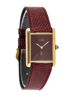 94c5f180298 Cartier Must de Cartier Tank Watch Cartier Bracelet