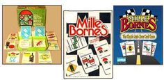 Mille Bornes card game had the thrills of a good car race into a card-game form.