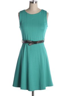 Grand Canal Tour Dress in Jade