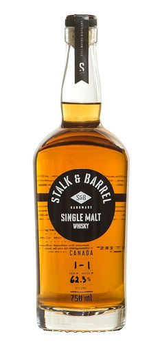 Stalk & Barrel Single Malt Whisky from Canada. From Still Water's Distillery - Canadian Whisky Distillery of the Year.
