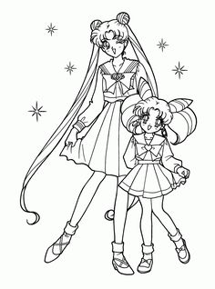 Free Sailor Moon Coloring Pages Art Pinterest Sailor moon