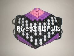 Cheshire Cat inspired Surgical/Visual Kei Cyber Raver Kandi Mask by RivetGiRL Falls