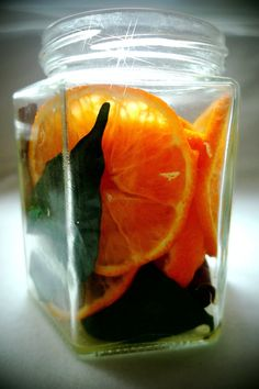DIY-creation Lufterfrischer Orange