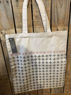Cocktails are the best reason... (East of India Tote bag)