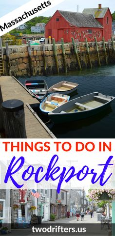Things to do in Rockport Massachusetts: There's so much to explore in Cape Ann. This list of things to do in Rockport MA will keep you busy during your New England vacation.