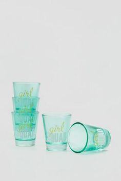 Girl Squad Shot Glass Set