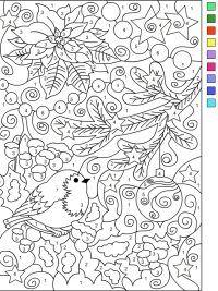 Kerst Kleurplaten Om Uit Te Printen.15 Gratis Te Printen Kleuren Op Nummer Kleurplaten