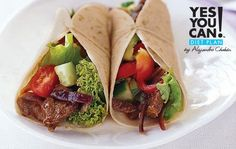 Beef Fajitas - A healthy option for your Yes You Can! Diet Plan lunch