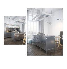 """steel 1"" by weroniqa on Polyvore featuring interior, interiors, interior design, dom, home decor i interior decorating"