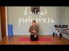 6 MINUT JÓGY proti stresu - YouTube Workout, Fitness, Youtube, Sport, Psychology, Deporte, Work Out, Excercise, Sports