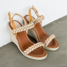 63.74$  Watch now - http://ai3bg.worlditems.win/all/product.php?id=32802145835 - Thick Bottom Slope Heels Straw Weaving Women's Wedges Sandals Open Toe Strap Buckle 2017 Summer New All Match Hot Selling