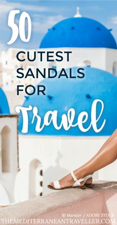It's the ultimate travel packing dilemma: Comfortable sandals, or stylish ones? Sandals that are good for sightseeing and walking but still look fashionable with a dress? What's the perfect travel sandal? Surely there must be sandals that are both? Luckily for you, I compiled this epic list of 50 of the best cute sandals that are sturdy and versatile enough to take on your travels. #travel #sandals #shoes #travelsandals #travelshoes #packing #summer #europe #best #list #bestsandals #cute