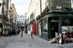 About Time film location: Newburgh Street, Soho, London W1. I thought this was beautiul in the movie, would love to visit this spot and other's in my fav movies that I love.