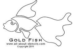 Many Fish Stencil Patters Plus Cat Stencils and Free Printable ...