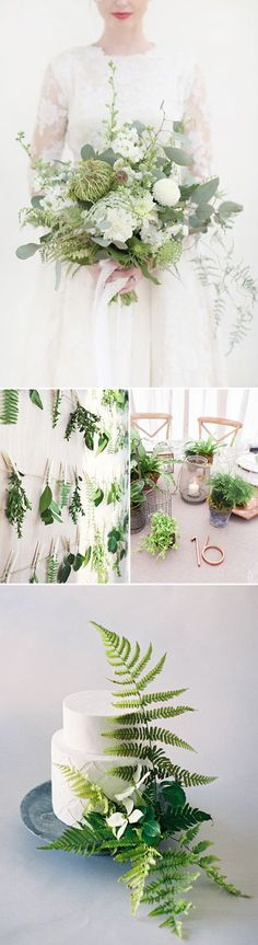 Wedding+Inspiration:+Pantone+Color+of+the+Year+Greenery+by+Heather+Lee+for+Julep