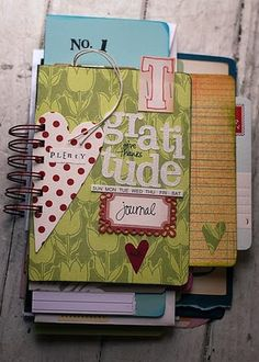 a gratitude journal have the kids write in it every night. Simple things that they are grateful for each day.