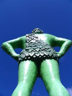 Jolly Green Giant in Blue Earth, Minnesota