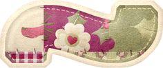 Alfabeto Patchwork Cherry. | Oh my Alfabetos!