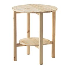 IKEA   NORNÄS, Side Table , Untreated Solid Pine Is A Durable Natural  Material That Can Be Painted, Oiled Or Stained According To Preference.
