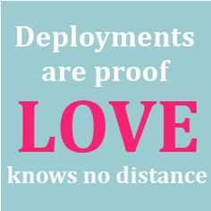 Deployments are proof LOVE knows no distance. #Army marriedtothearmy.com