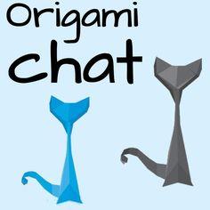 Tutoriel vidéo pour réaliser un origami chat trop mignon !