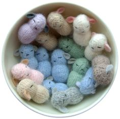 bowl of bunnies....would be cute for an expectant mother :)