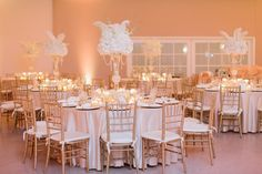Gorgeous look & lighting at this chic venue! Great photo via #fairchildgarden #diy #diywedding #weddingideas #weddinginspiration #ideas #inspiration #rentmywedding #celebration #weddingreception #party #weddingplanner #event #planning #dreamwedding